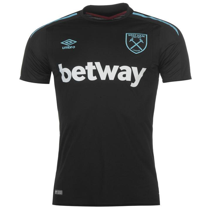 CAMISETA Umbro West Ham United SEGUNDA EQUIPACIÓN 2017/18