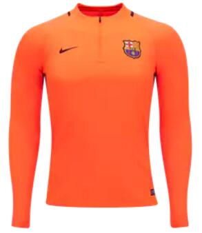 CAMISETA Nike Barcelona Manga larga Squad Top 17/18