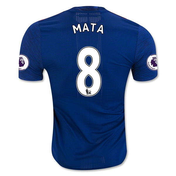 CAMISETA Manchester United 16/17 MATA Authentic SEGUNDA EQUIPACIÓN