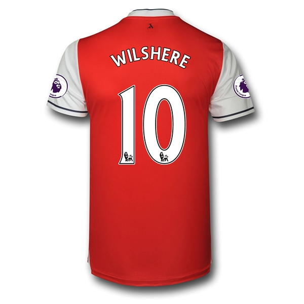CAMISETA Arsenal 16/17 10 WILSHERE Authentic PRIMERA EQUIPACIÓN